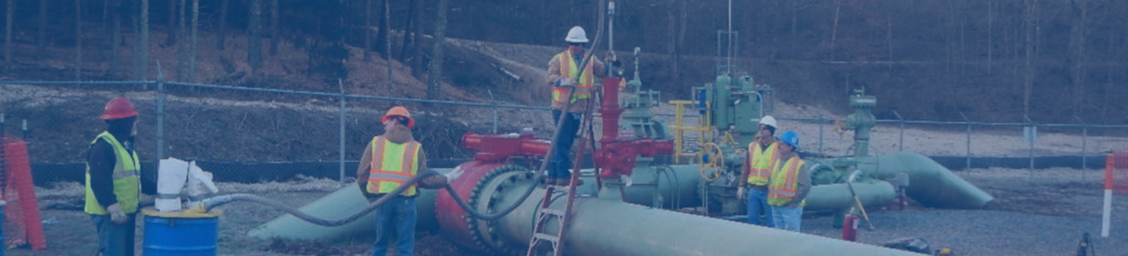 Pipeline Services: third party oversight, safety, inspection, corrosion, benzene / TENORM